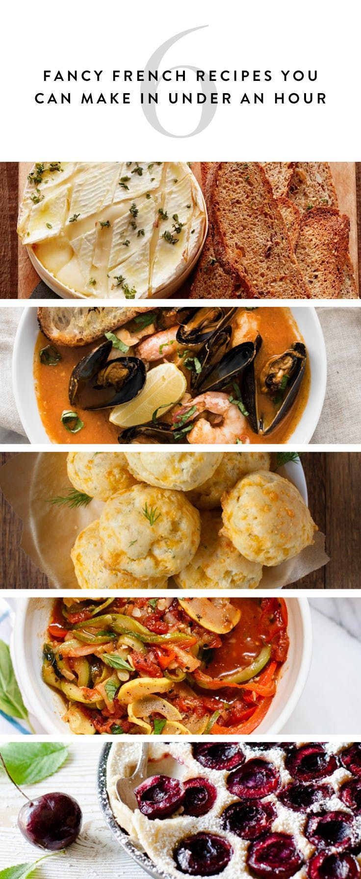 16 fancy french recipes you can make in under an hour recipes food ideas 16 fancy french recipes you can make in under an hour via purewow forumfinder Choice Image