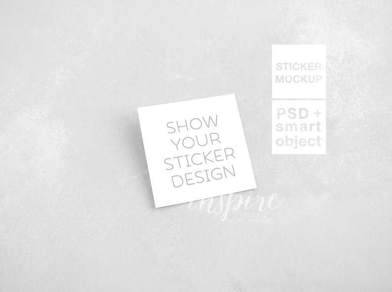 50 Sticker Mockup For Designers Mockup Design Design Template Sticker Design