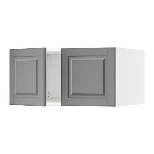 Sektion Surmeuble Refr Cong 2 Ptes Blanc Grimslov Blanc Casse