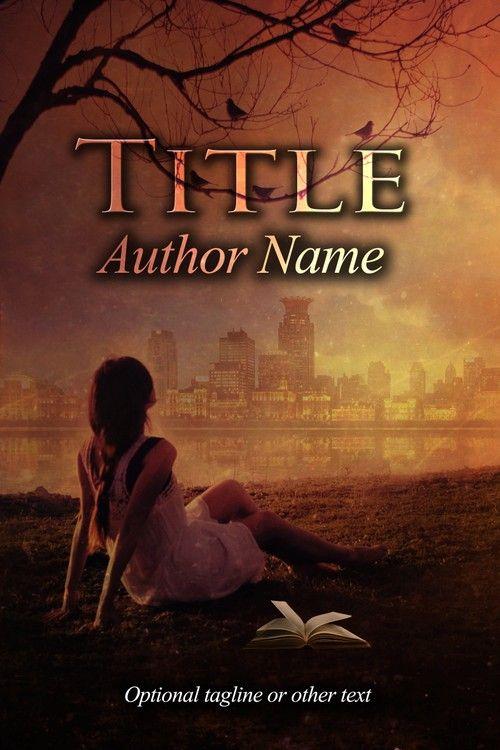 Premade Book Cover 391
