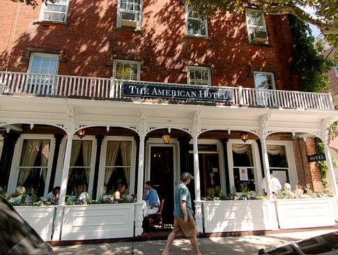 The American Hotel In Sag Harbor Ny Jimmy Buffet Was There