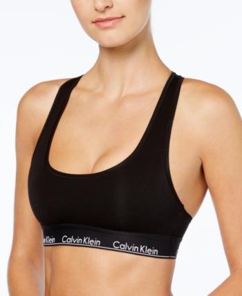 822e767b97c88 Calvin Klein Modern Cotton Bralette F3785 - Black XS