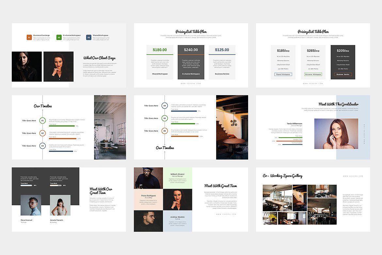 Hevera Coworking Space GoogleSlides Coworking