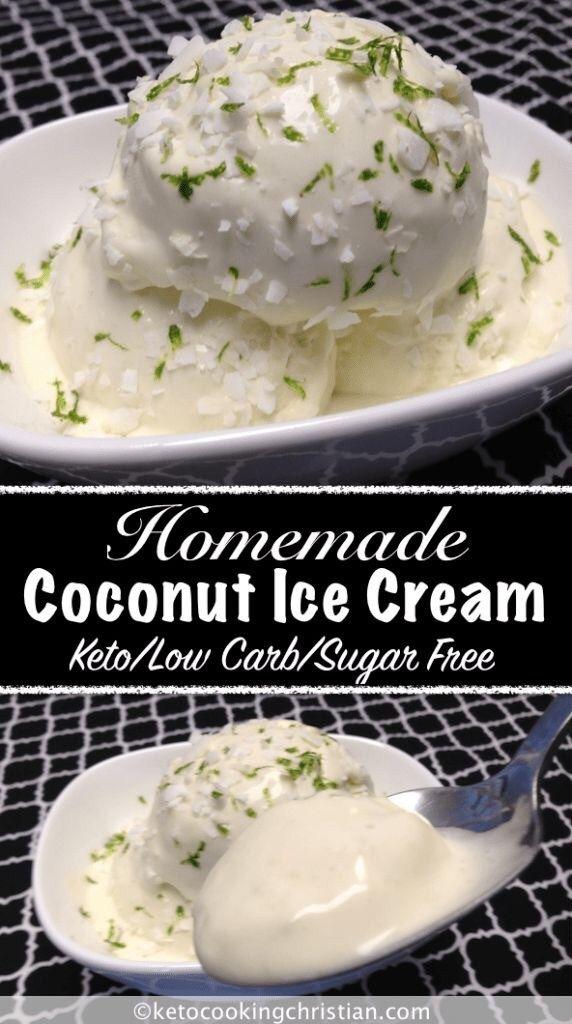 36 Delicious Low Carb Keto Ice Cream Recipes #ketoicecream