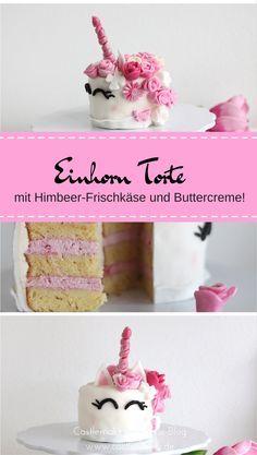 Rezept Fur Einhorntorte Mit Himbeer Kokos Fullung Castlemaker