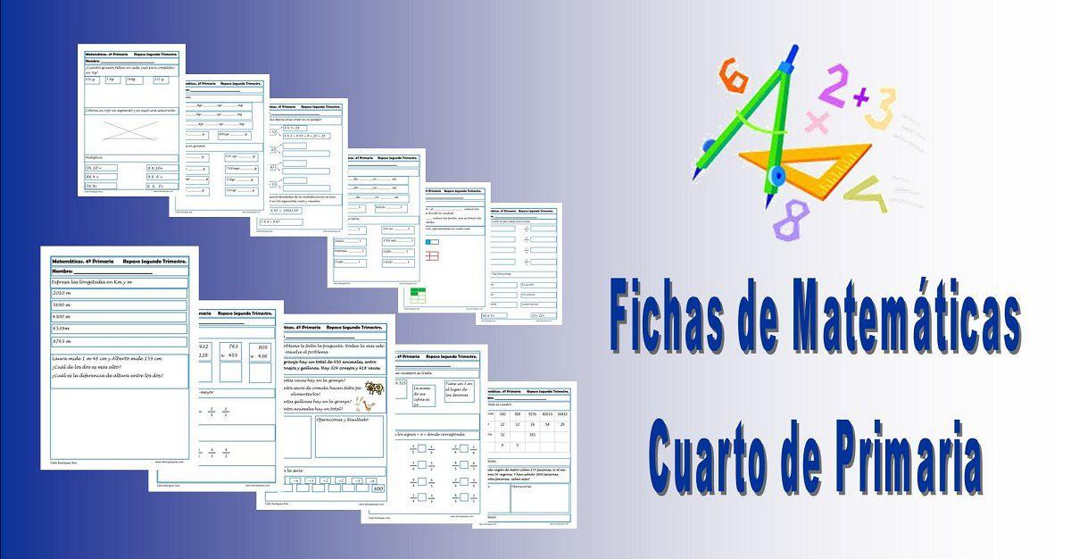 Ejercicios Matemáticas Primaria | Ejercicios matematicas primaria ...