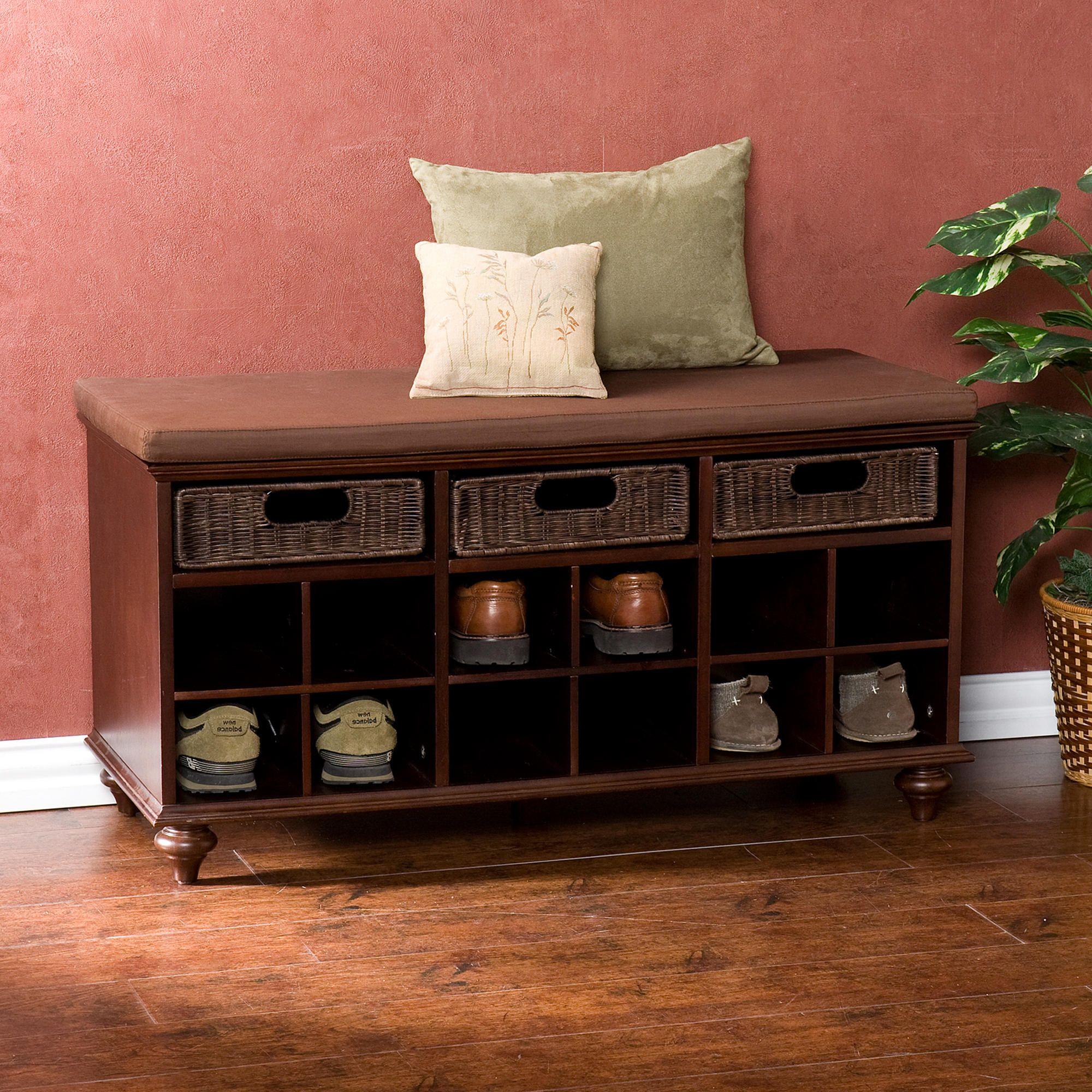 Oakdale Shoe Bench | World Market | Our Home | Pinterest