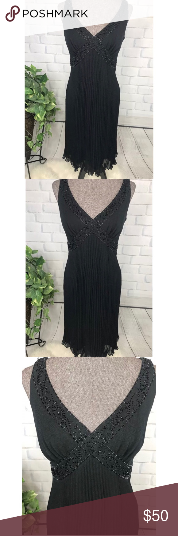 """Nee Jones New York Formal Cocktail Dress size 10 Perfect """"Little Black Dress"""" Nee with Tags Jones … (With images)"""
