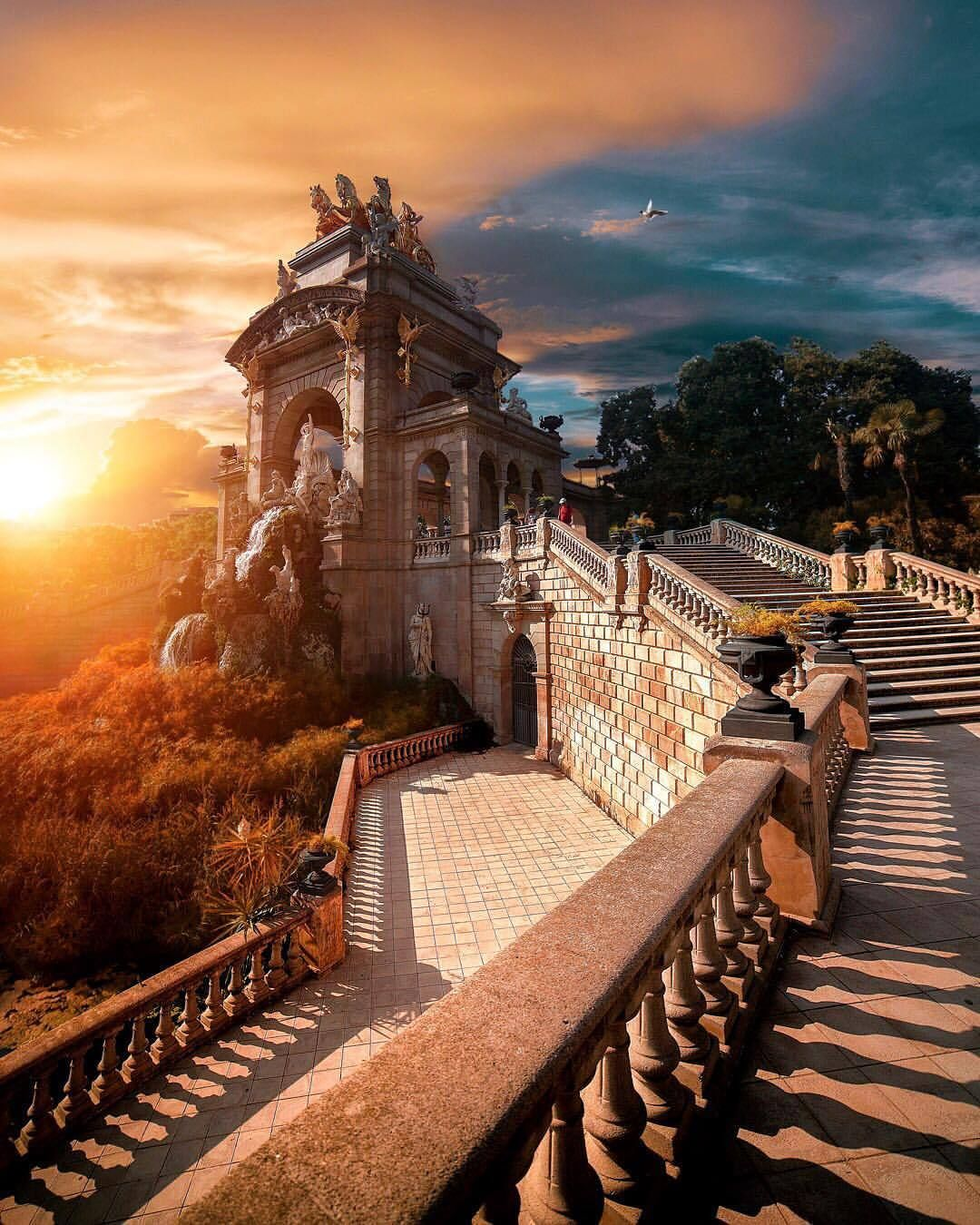 Amazing Places To Go Europe: Parc De La Ciutadella, Barcelona, Spain
