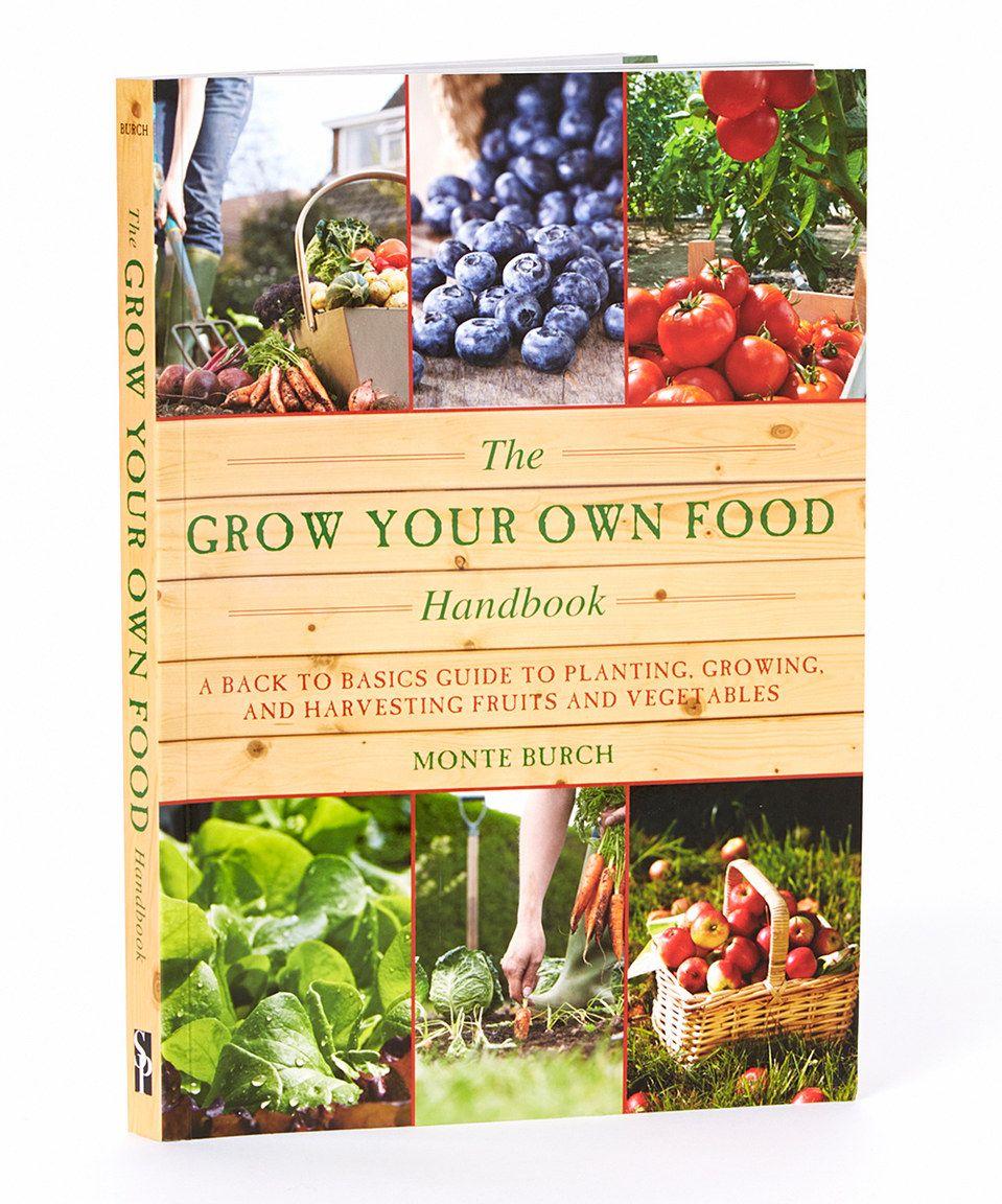 Look at this zulilyfind! The Grown Your Own Food Handbook