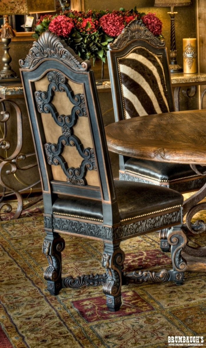 Zebra Dining Chair  Dining Dining Chairs And French Dining Rooms Delectable Zebra Dining Room Chairs Review