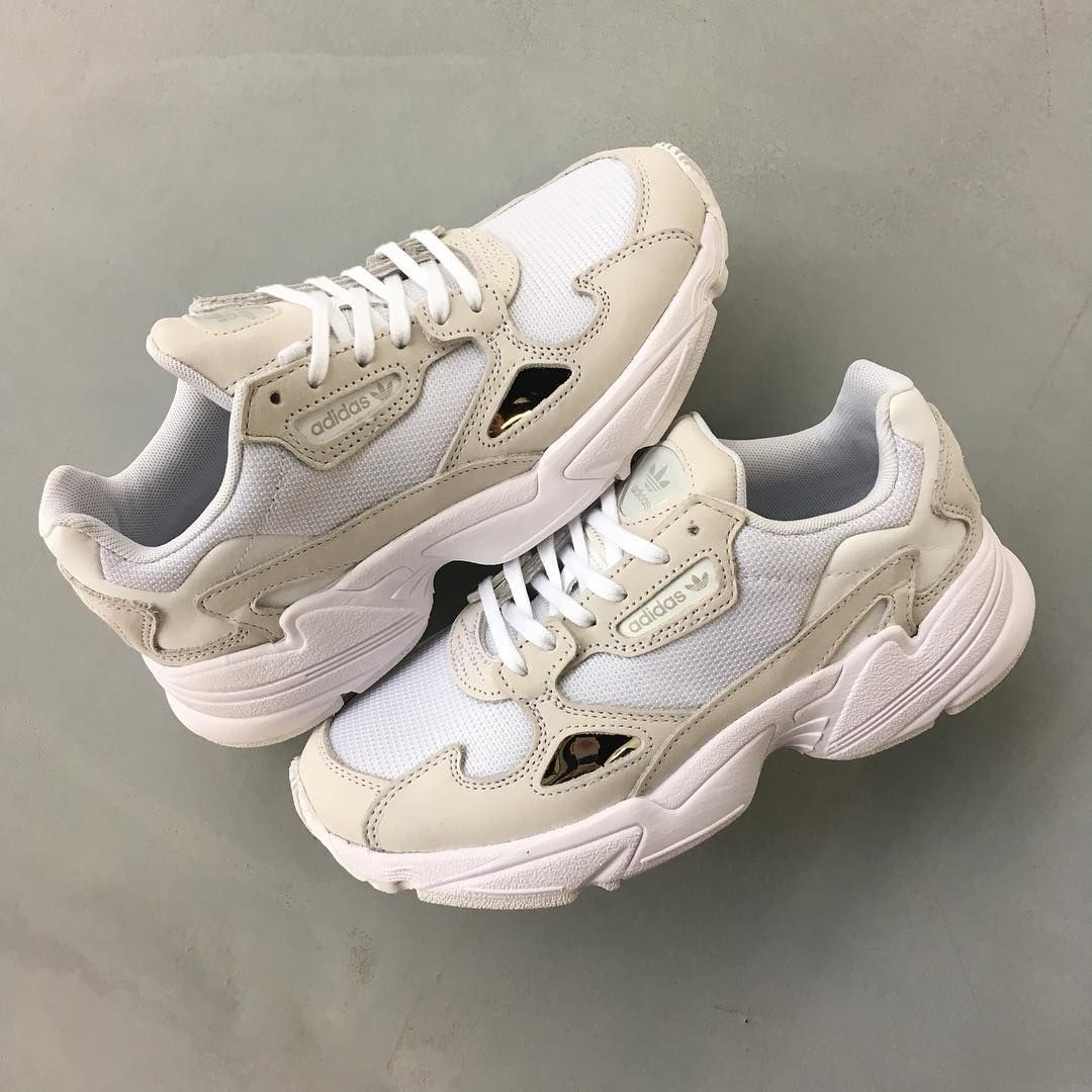 Saludar riñones Medieval  BRUUT on Instagram Adidas Falcon White Crystal White Size 36 tm 40 23 # adidas #bruut #crystal #falcon #instagram … | Sneakers, Shoes sneakers  adidas, Nike shoes usa