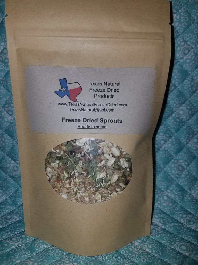 Freeze dried sprouts freeze drying sprouts frozen