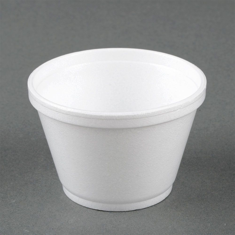 Dart 6sj12 6 Oz White Foam Food Container 50 Pack Food Containers Food Bowl Food Temperatures