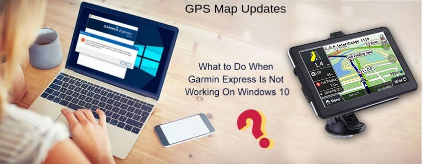 The first important thing that the Garmin Express App is