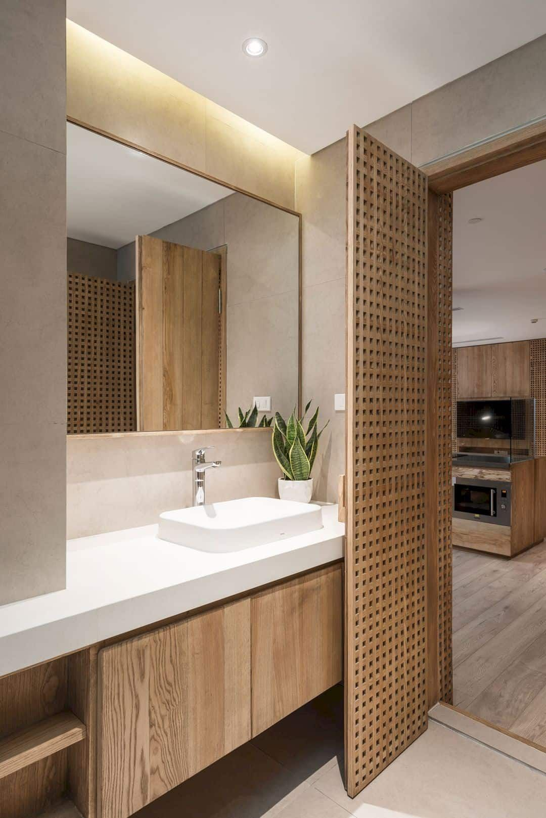 Joinery A Apartment Renovation With 29000 Separated Wooden Pieces