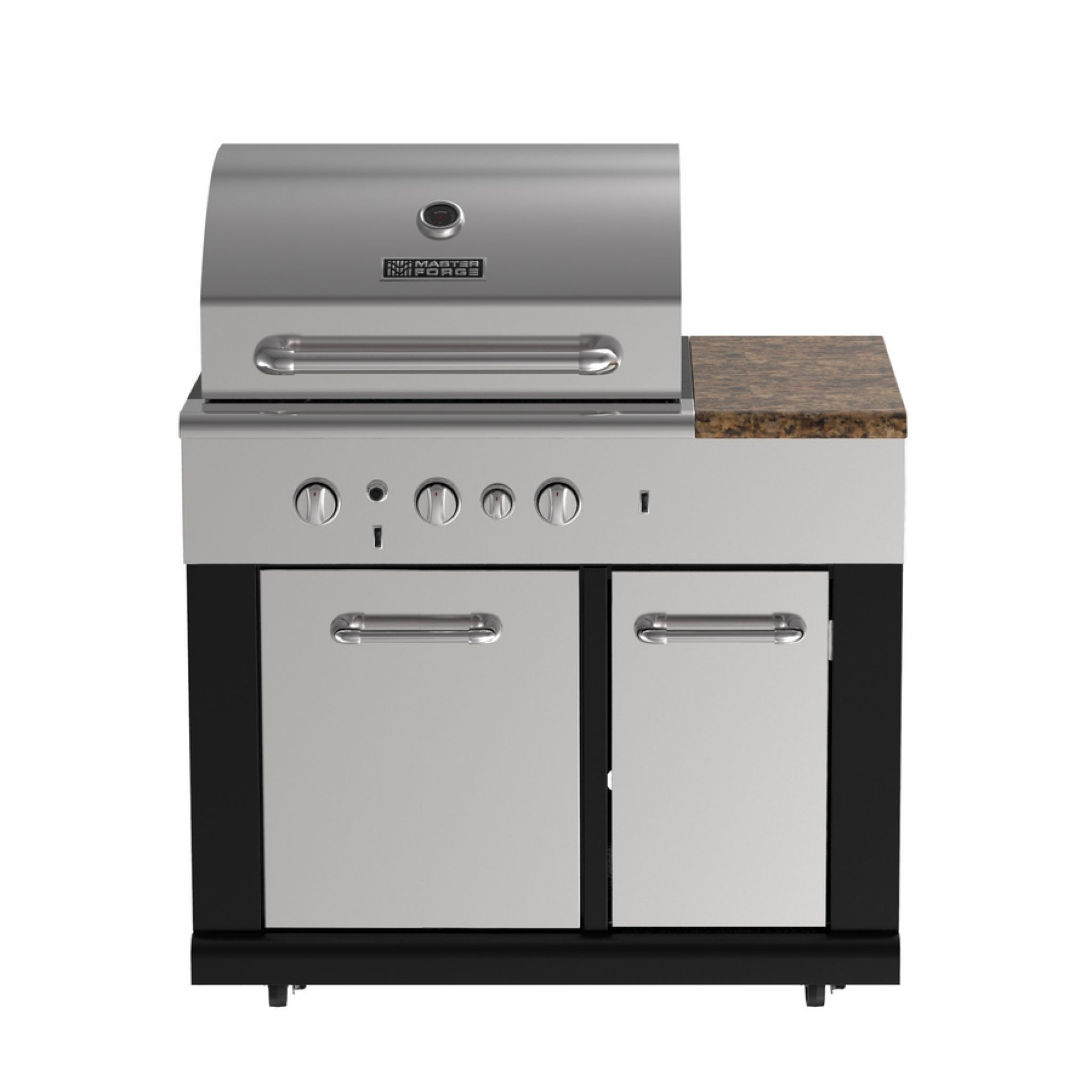 master forge 3 burner modular outdoor sink and side burners bg179c rh pinterest com