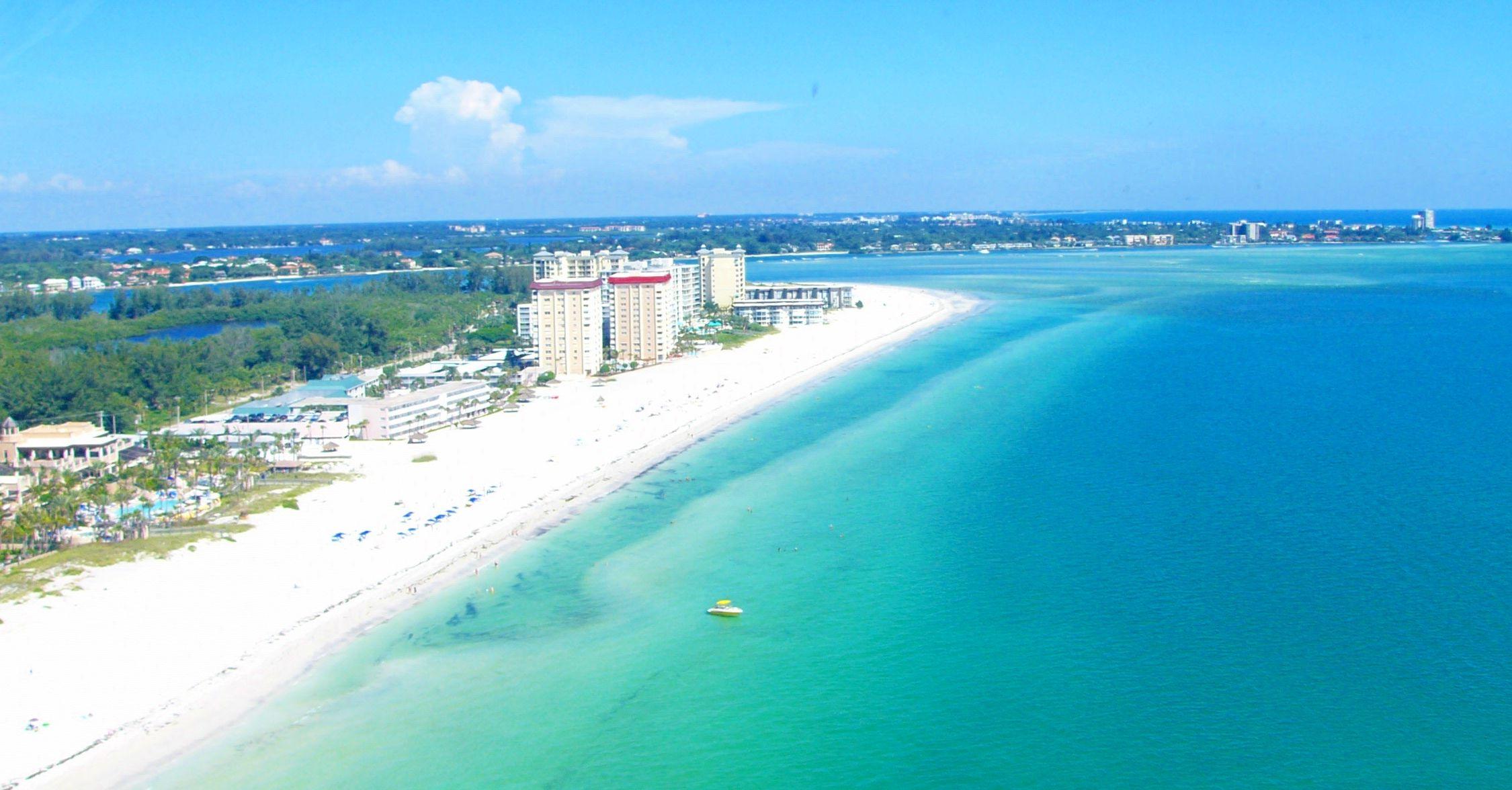 Sarasota Fl In Florida Beach Lido Beaches