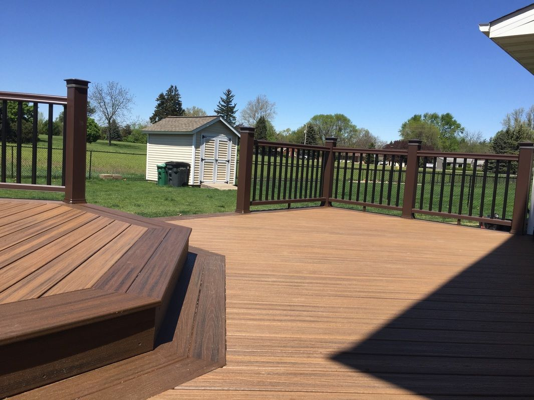 West Des Moines IA Decking Trex Transcend