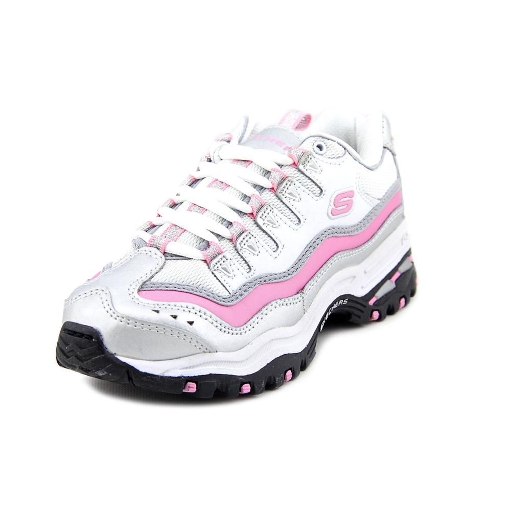 Skechers sport energy 2 regal youth girls size 11 white