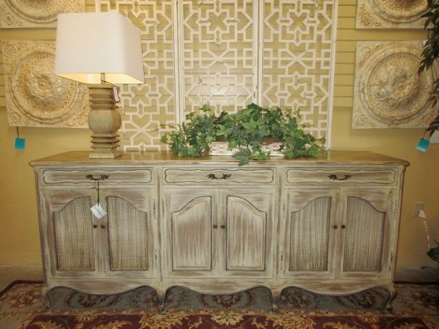 distressed wood six door buffet in a light finish the outer four rh pinterest com