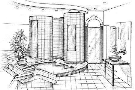 interior design sketches novice errors and tips on avoiding them - Easy Interior Design Sketches