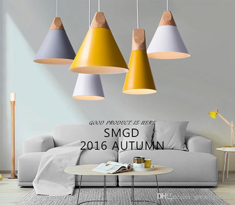 Nordic Minimalista Lámparas Colgantes Simple Salón Luminarias ...