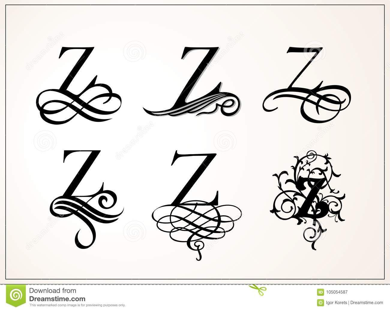 Victorian style filigree for monogramming   Victorian ...