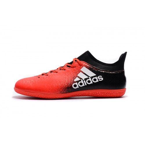 online retailer 05aaa ab578 Adidas X - Baratas 2017 Adidas X 16.3 IC Rojo Negro Zapatos De Soccer