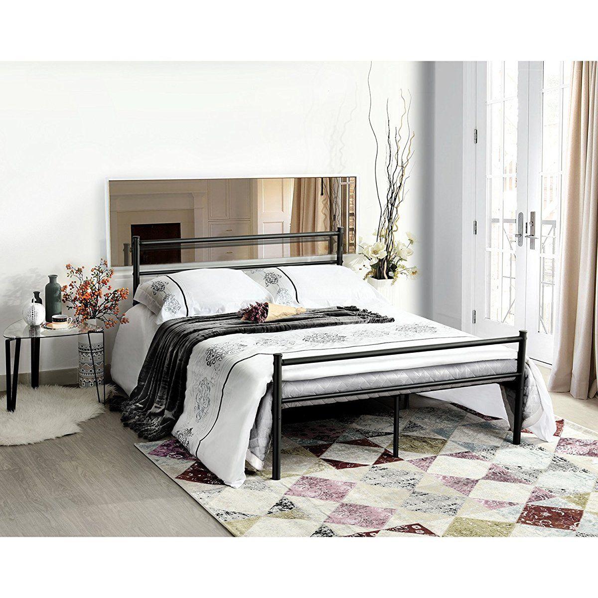 metal bed frame two headboards bed frame pinterest bed frame rh pinterest com