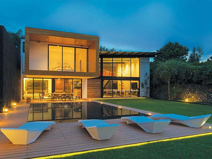 Space Casa Cuernavaca Casas, Arquitectura, Fachada de casa