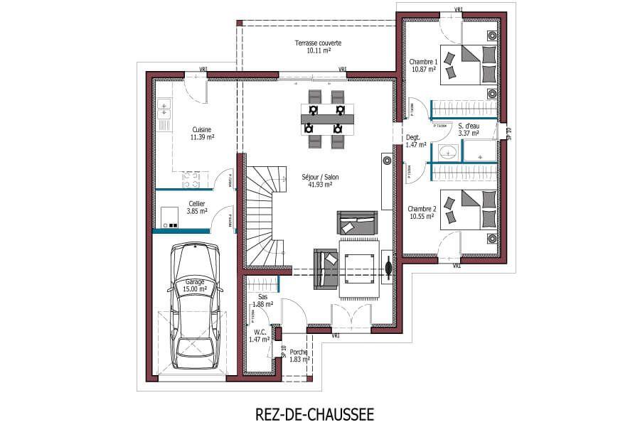 Epingle Sur Nos Plans De Maisons