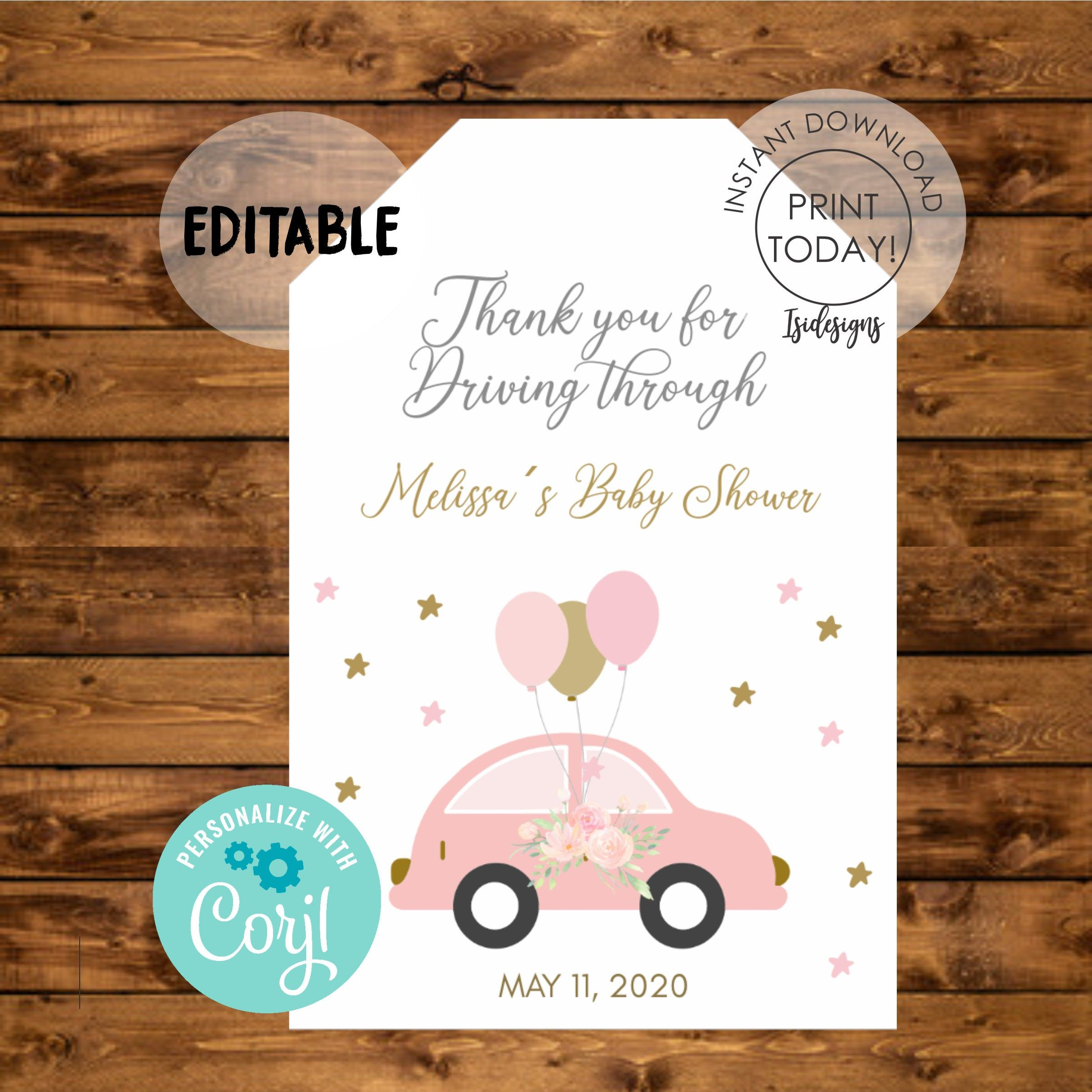 Candy Tags Cookie Tags Princess Thank You Tags Personalized Tags Bear Baby Shower Favor Tags Baby Girl