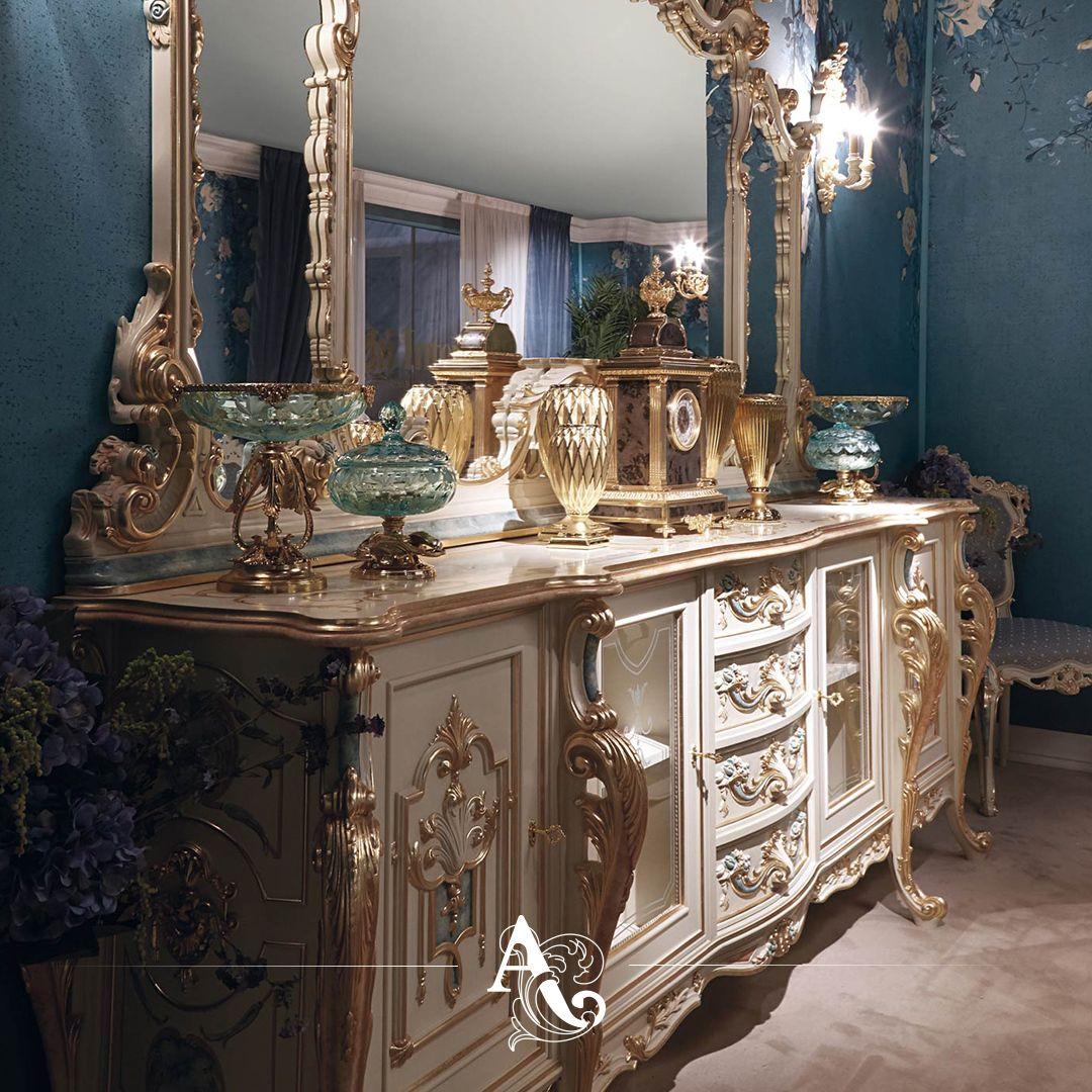Sedia luigi xv / htdeco.fr. Calendula Sideboard Calendula Mirror Classic Collection La Boutique L5