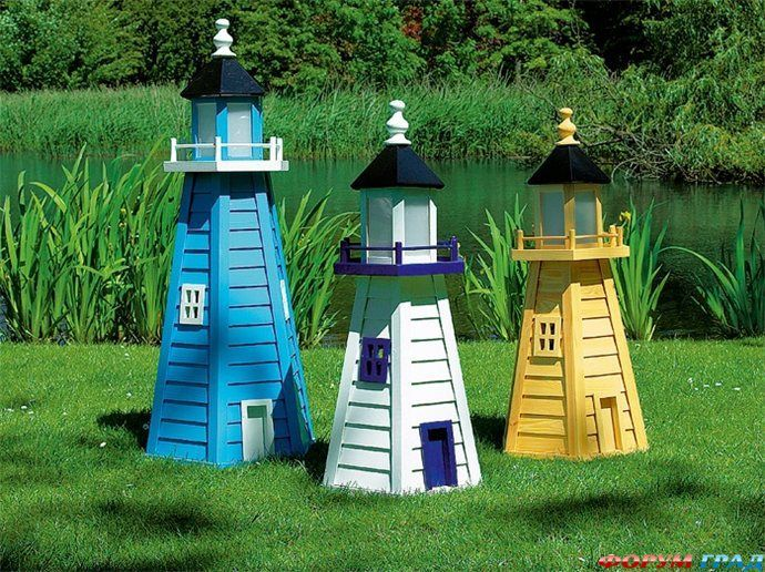 Сделать декоративный домик для сада своими руками фото 816