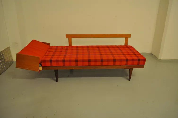 Canape Daybed Scandinave Ingmar Relling Pour Ekornes 1960 Daybed Ekornes Chaise Lounge
