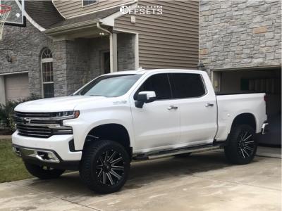 2019 Chevrolet Silverado 1500 22x10 18mm Fuel Contra In 2020