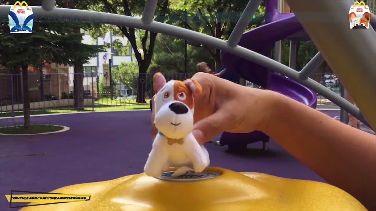 Happy Meal Mcdonalds Happy Meal Secret Life Of Pets 2 Toys Set