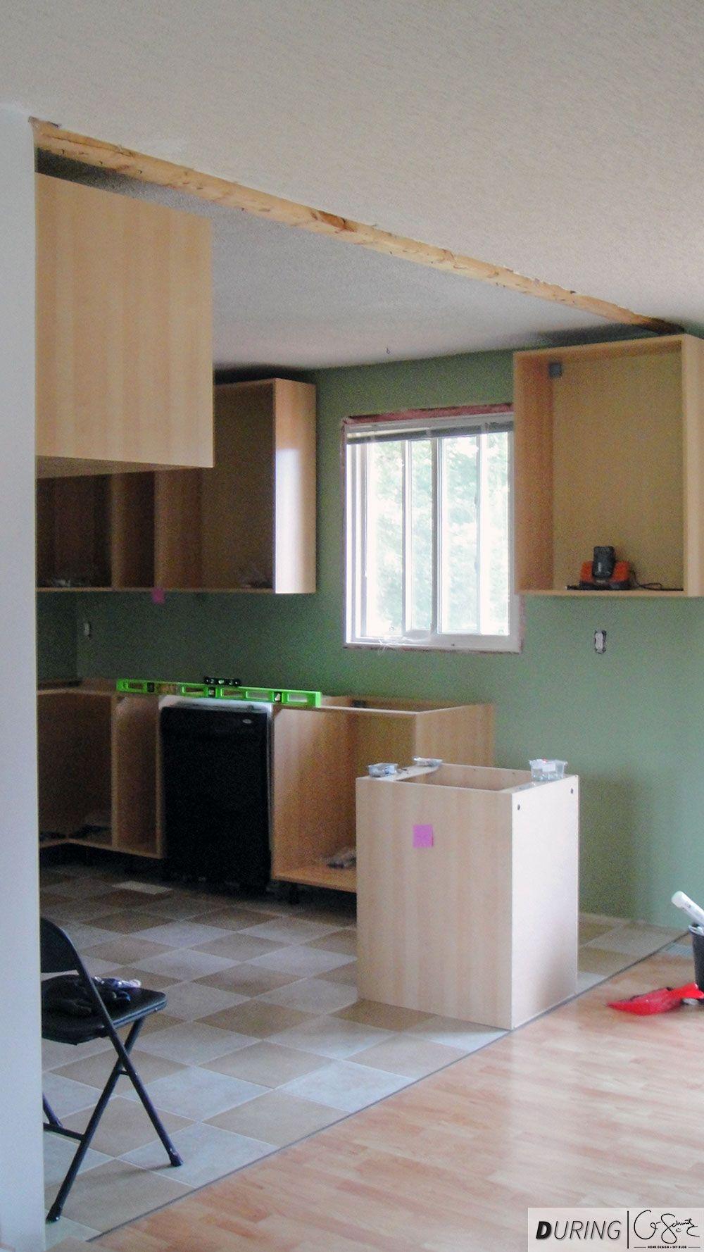 installing ikea base cabinets madness method the diy kitchen rh pinterest com