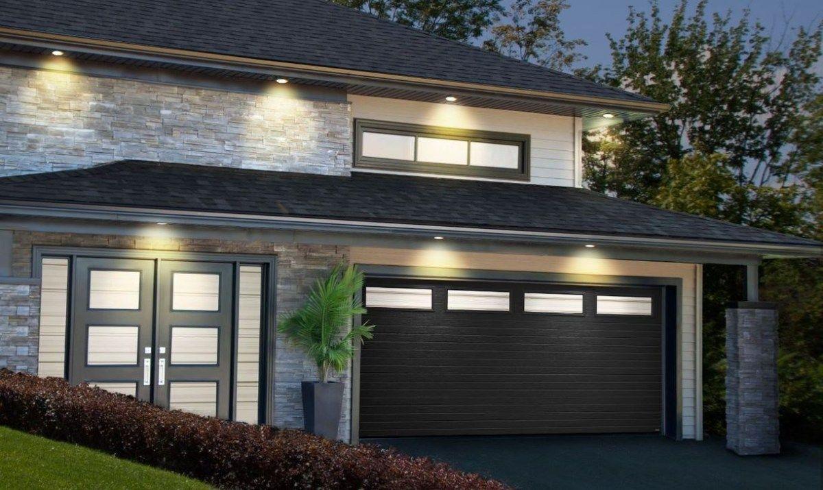 48 The Best Modern Garage Door Design Ideas Black Garage Doors