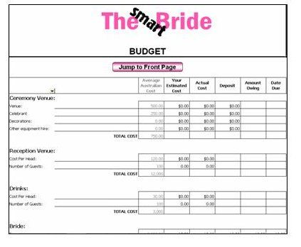 Smart budget for a bride #budgetwedding #budgetweddingchecklist ...