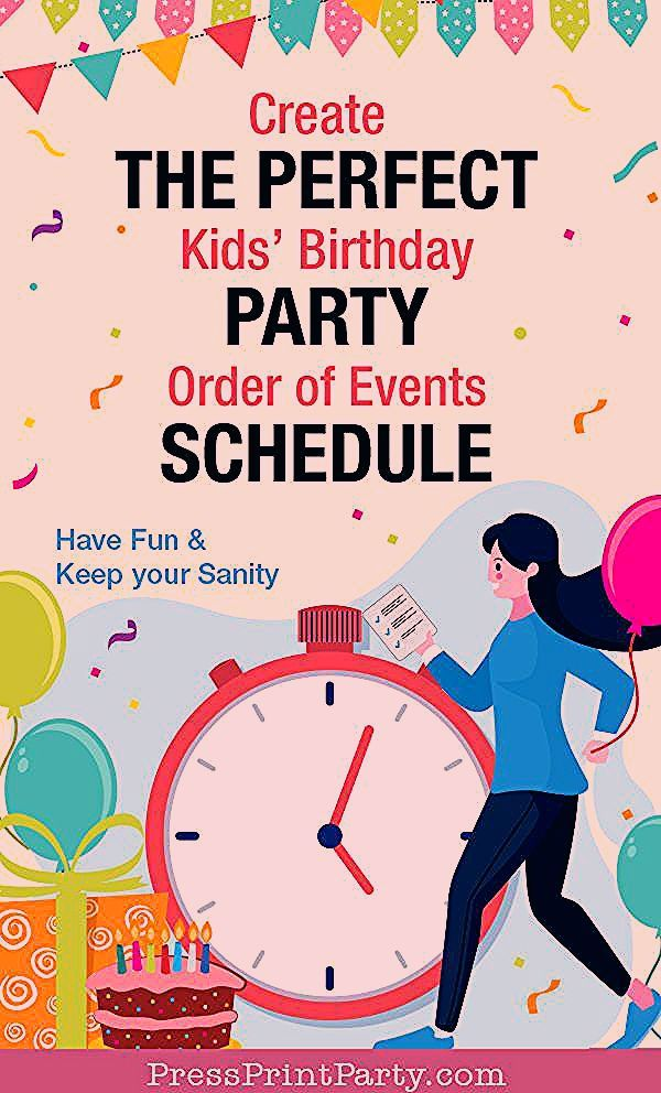 Photo of The Perfect Birthday Party Schedule for a Stress-Free Kids' Party