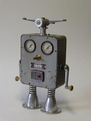 pin by shop at tonys on robots robot art homemade robot recycled rh pinterest com