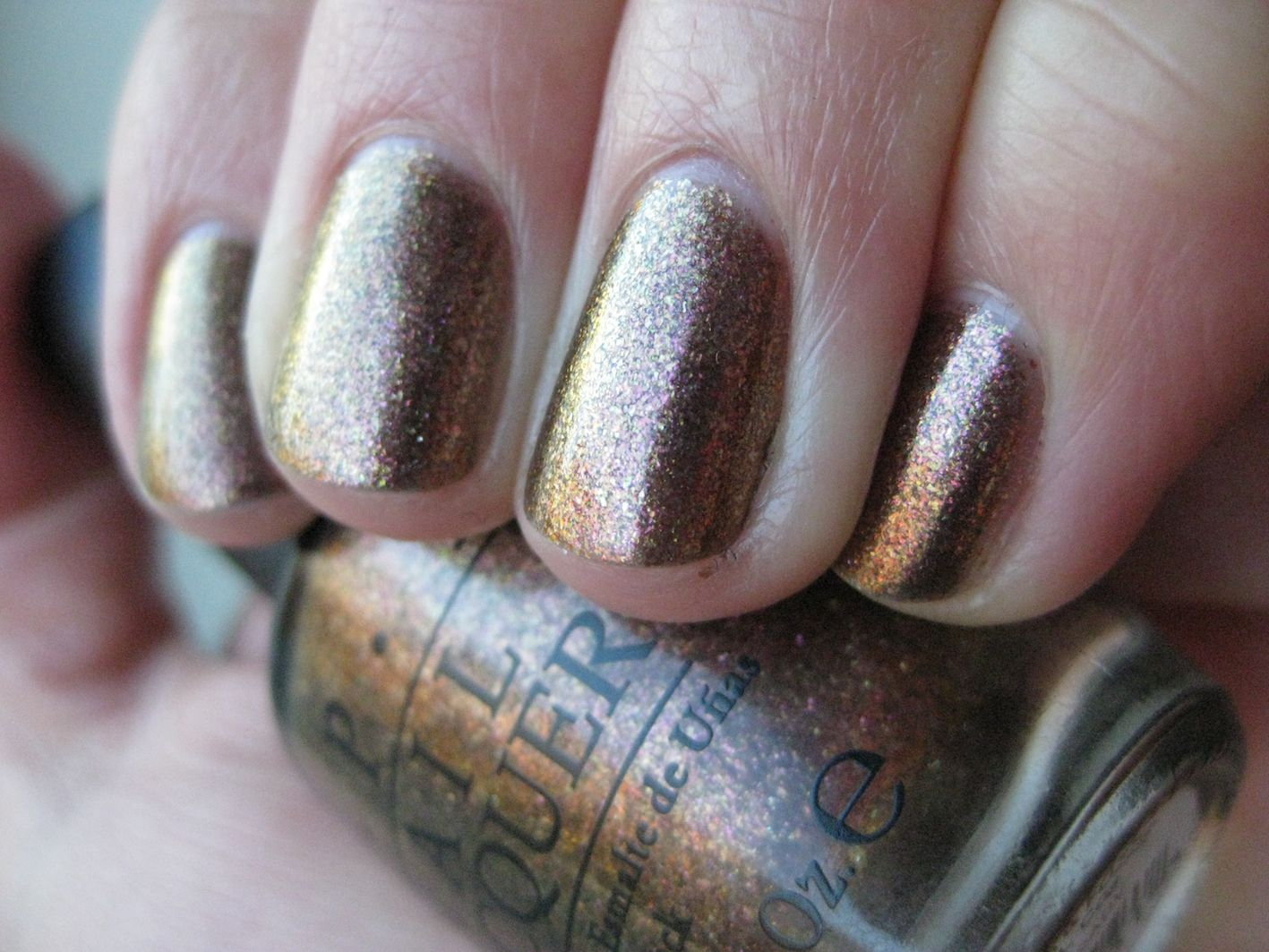 OPI Warm and Fozzie