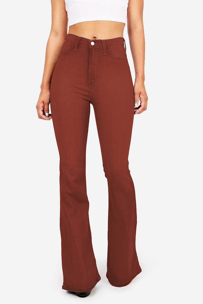 229cd0d83b Jango Flared High Waist Bell Bottom Jeans | bell bottom jeans | High ...