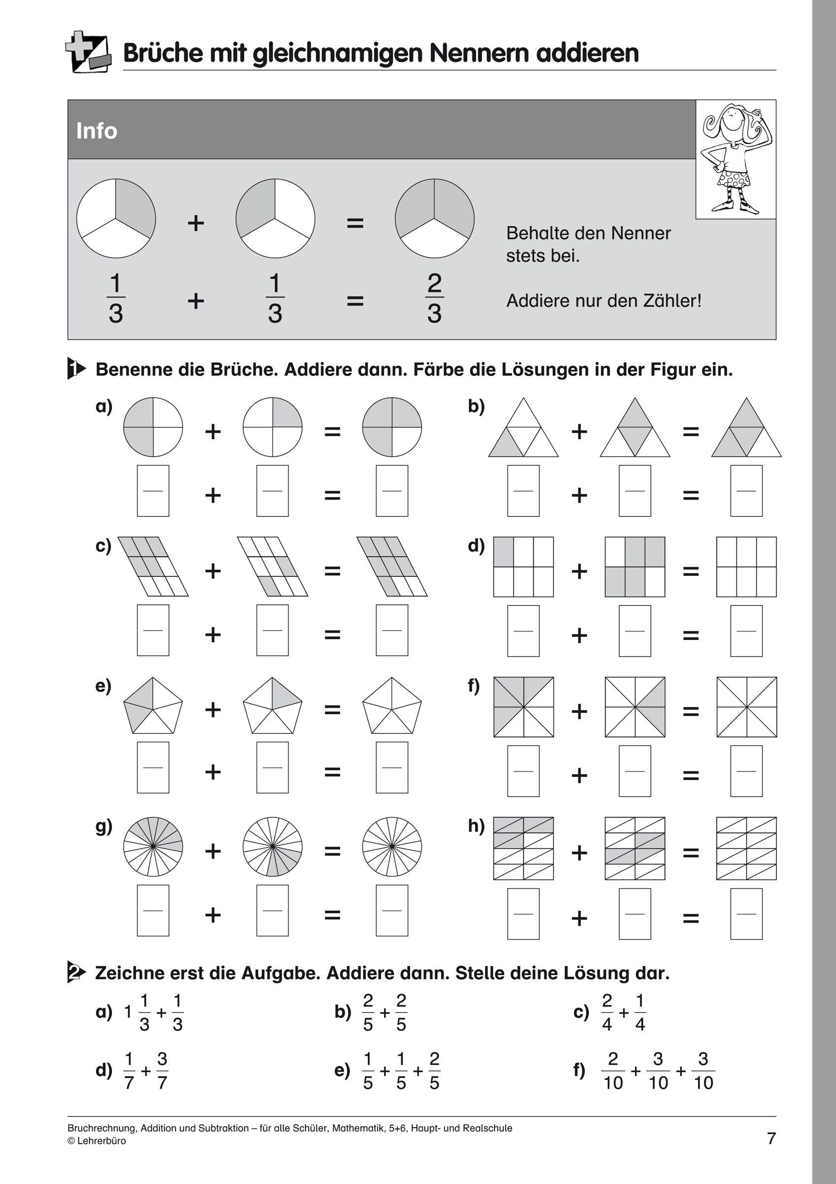 27 Vereinfachte Bruche Arbeitsblatt