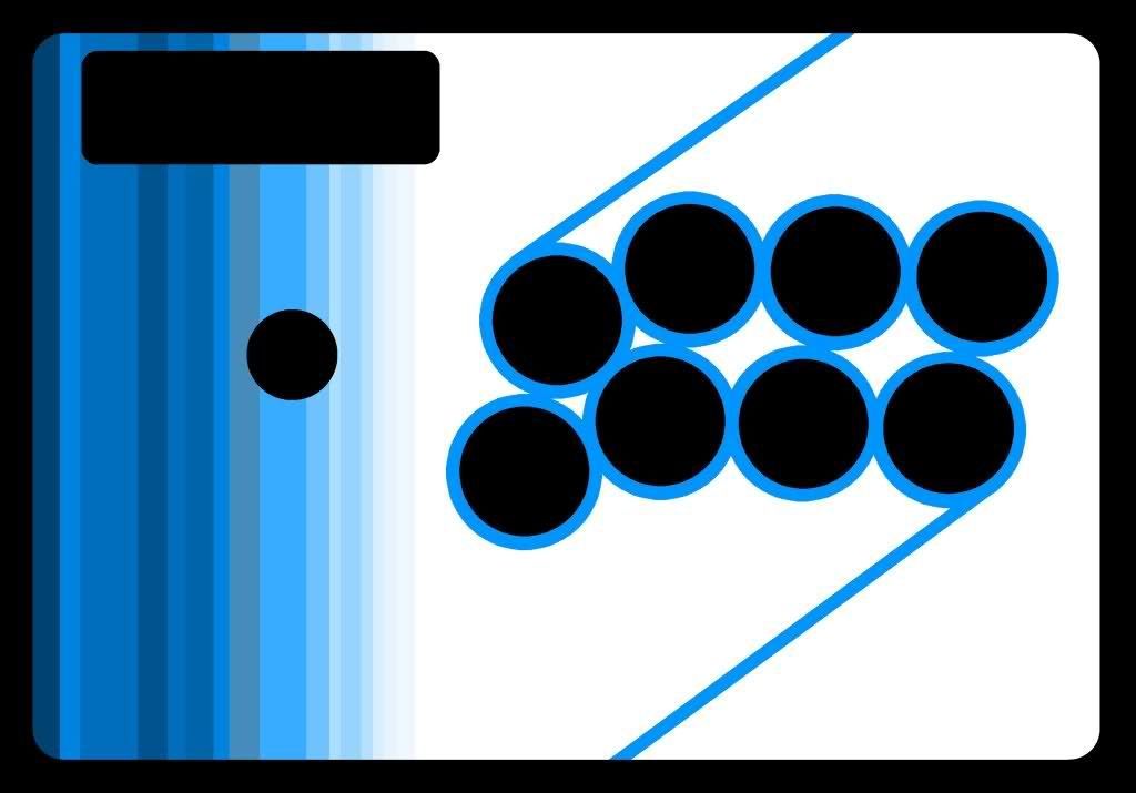 diamond template arcade button layout - Google Search | Arcade
