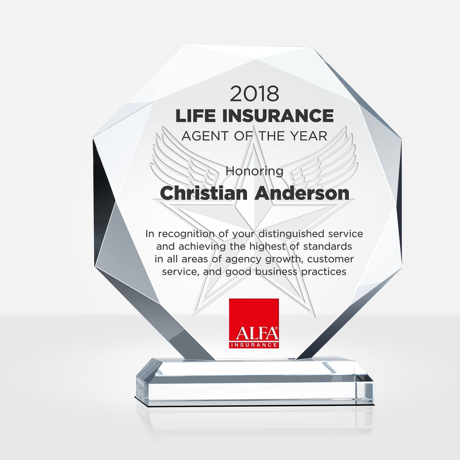 Insurance Agent Of The Year Award Is A Prestigious Award To Recognize The Leading Insurance Agents Hon Insurance Agent Life Insurance Agent Umbrella Insurance