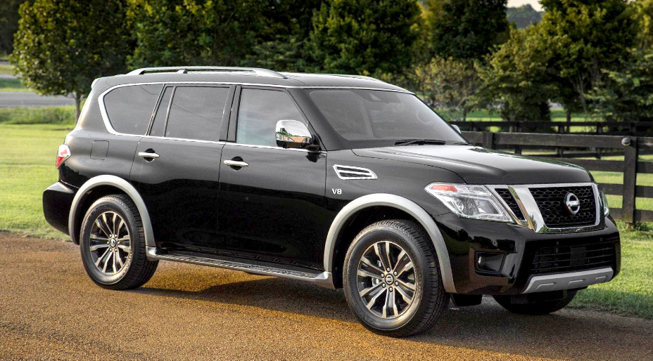 2019 Nissan Armada Release Date Specs Price Moving An Army Of Children Usually Takes A Conflict Wagon The 2019 Ni Nissan Patrol Nissan Armada Nissan Titan