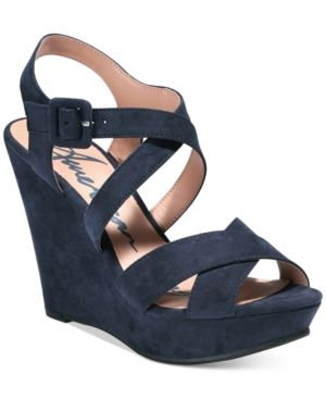 d30059fc697d9 American Rag Rachey Platform Wedge Sandals